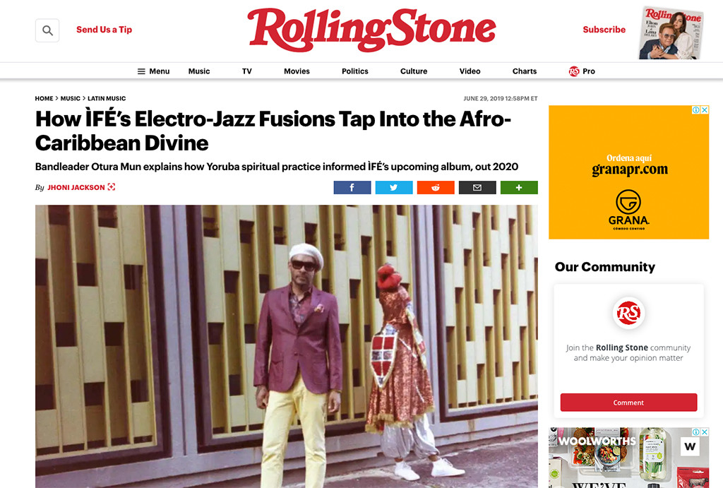 Screenshot_2019-10-25 How ÌFÉ's Electro-Jazz Fusions Tap Into the Afro-Caribbean Divine WEB