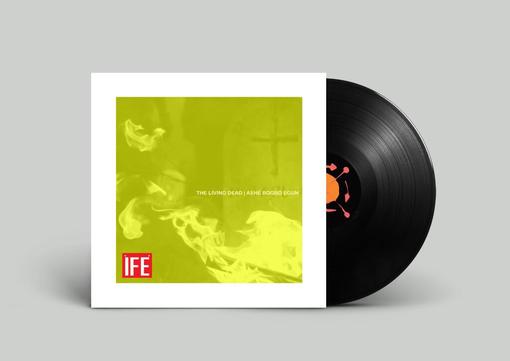 The Living Dead Vinyl Mock Up